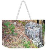 Old Pine Stump Weekender Tote Bag