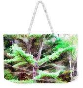 Old Pine Tree Weekender Tote Bag