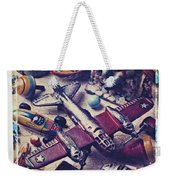 Old Plane And Other Toys Weekender Tote Bag