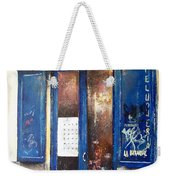 Old Plumbing-madrid  Weekender Tote Bag