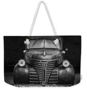 Old Plymouth Truck Square Weekender Tote Bag