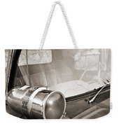 Old Police Car Siren Weekender Tote Bag