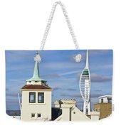 Old Portsmouth's Towers Weekender Tote Bag