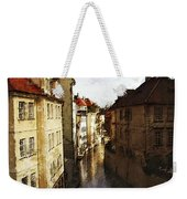 Old Prague Weekender Tote Bag