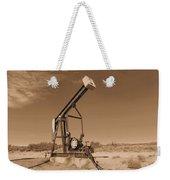 Old Pumpjack  Artesia New Mexico Weekender Tote Bag