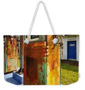 Old Pumps At Pinecrest Weekender Tote Bag