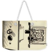 Old Push Button Light Switch Weekender Tote Bag