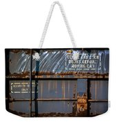 Old Railroad Boxcar  Weekender Tote Bag