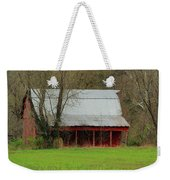 Old Red Barn In Jefferson County Weekender Tote Bag