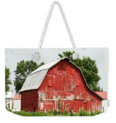 Old Red Barn Johnson County Ia Weekender Tote Bag