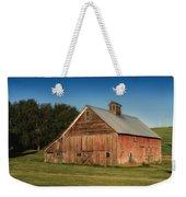Old Red Barn Palouse Wa Dsc05067 Weekender Tote Bag
