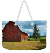Old Red Big Sky Barn  Weekender Tote Bag