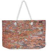 Old Red Brick Wall Weekender Tote Bag