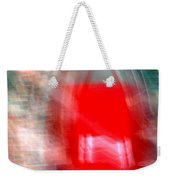 Old Red Door Abstract Weekender Tote Bag