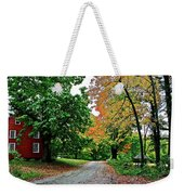 Old Red House Weekender Tote Bag