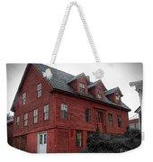 Old Red House In Shelburne Falls Weekender Tote Bag