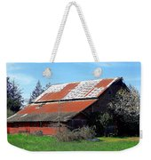Old Red Photograph Weekender Tote Bag