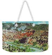 Old Roads To Chama Weekender Tote Bag