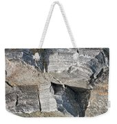 Old Rock Background Weekender Tote Bag