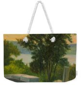 Old Rock Wall  Weekender Tote Bag