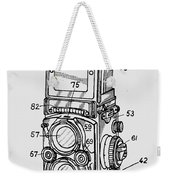 Old Rollie Vintage Camera T-shirt Weekender Tote Bag
