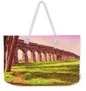 Old Roman Aqueduct Weekender Tote Bag
