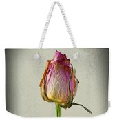 Old Rose On Paper Weekender Tote Bag