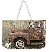 Old Rust Truck Weekender Tote Bag