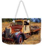 Old Rusting Flatbed Truck Weekender Tote Bag