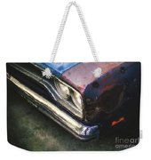 Old Rusty Car Weekender Tote Bag