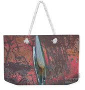 Old Rusty Hood At 9000 Feet Rocky Mountains Co Weekender Tote Bag