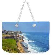 Old San Juan Coastline 3 Weekender Tote Bag
