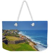Old San Juan Coastline Weekender Tote Bag