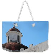 Old San Juan Puerto Rico Downtown Church Weekender Tote Bag