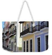 Old San Juan Puerto Rico Downtown  Weekender Tote Bag