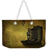 Old School Weekender Tote Bag by Evelina Kremsdorf