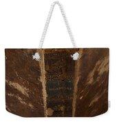 Old Shakespeare Book Weekender Tote Bag