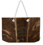 Old Shakespeare Book Weekender Tote Bag