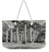 Old Sheldon Church Ruins, South Carolina Weekender Tote Bag