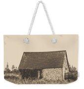 Old Shingled Farm Shack Weekender Tote Bag