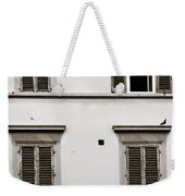 Old Shutters Weekender Tote Bag