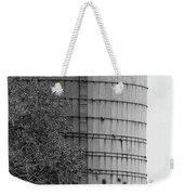Old Silo Bw Weekender Tote Bag