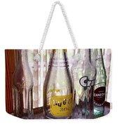 Old Soda Bottles Weekender Tote Bag