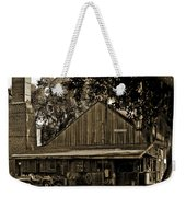 Old Spanish Sugar Mill Sepia Weekender Tote Bag