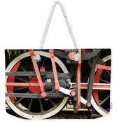 Old Steam Locomotive Wheels Weekender Tote Bag