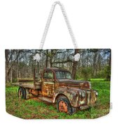 Old Still Art 1947 Ford Stakebed Pickup Truck Ar Weekender Tote Bag