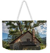 Old Stone Ranch Structure Weekender Tote Bag