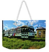 Old Street Car In Upstate New York Weekender Tote Bag