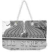 Old Street Sint Maarten In Sepia Weekender Tote Bag