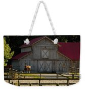Old-style Horse Barn Weekender Tote Bag